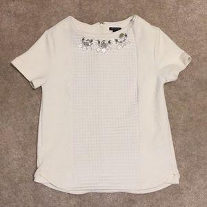 ANN TAYLOR white top